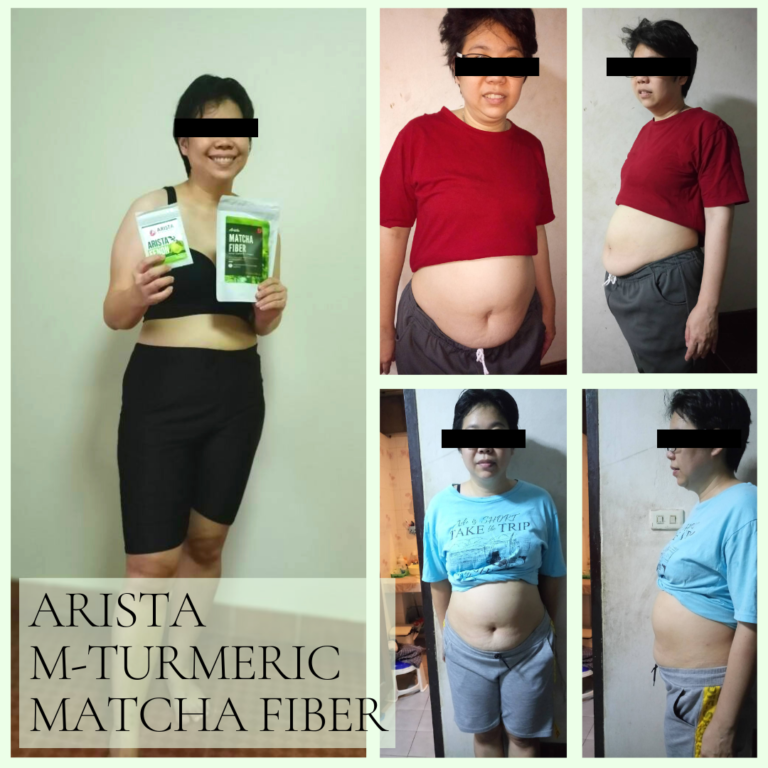 Arista M-Turmeric and Matcha fiber 12