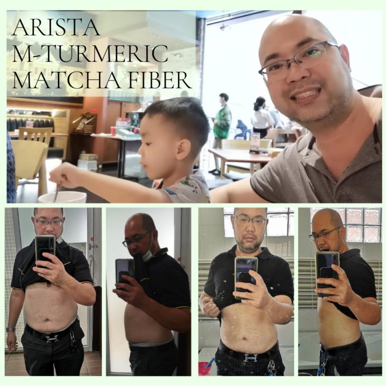 Arista M-Turmeric and Matcha fiber 13