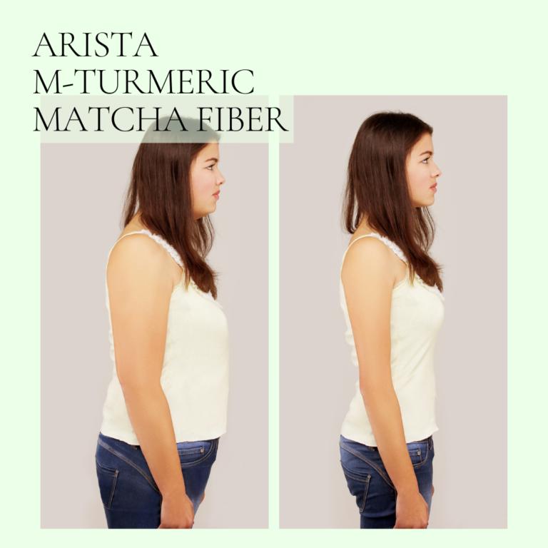 Arista M-Turmeric and Matcha fiber 14