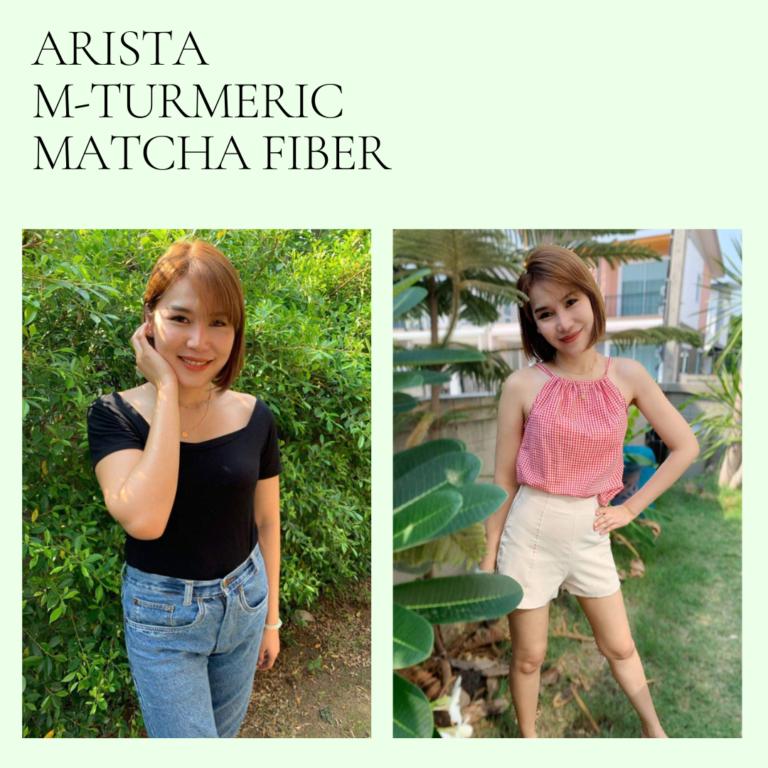 Arista M-Turmeric and Matcha fiber 15