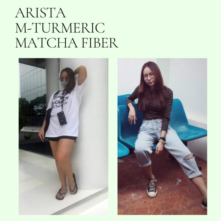 Arista M-Turmeric and Matcha fiber 16