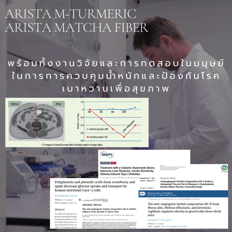Arista M-Turmeric and Matcha fiber 17