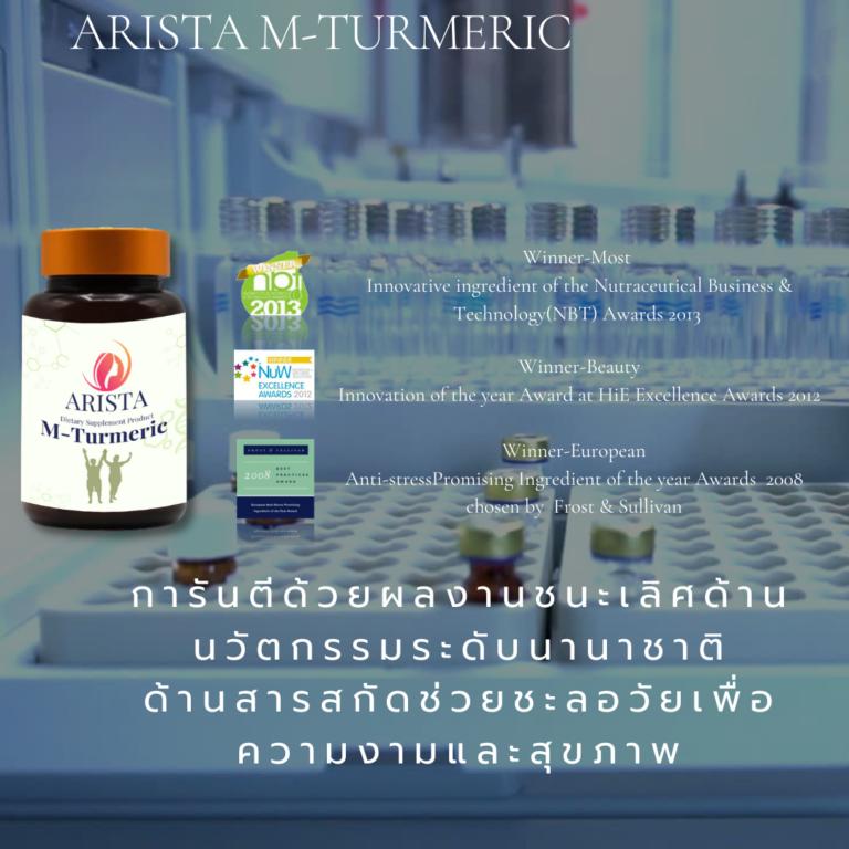 Arista M-Turmeric and Matcha fiber 18